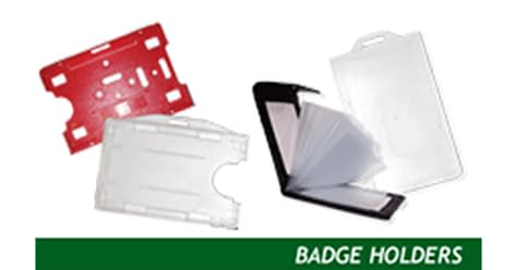 BadgeHolders Card printing services
